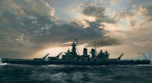 Korean players protest a flag in World of Warships