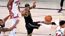 Rajon Rondo smoothly orchestrates Lakers' reserves in choppy win over Heat