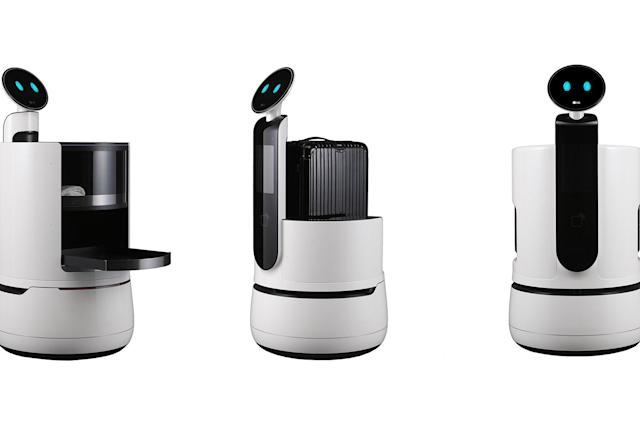 LG's new CLOi robots are designed for hotels and supermarkets