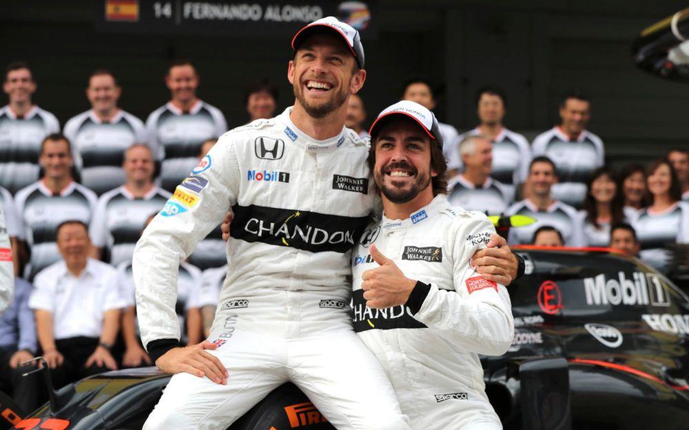 Jenson Button will replace Fernando Alonso for the Monaco Grand Prix - AP