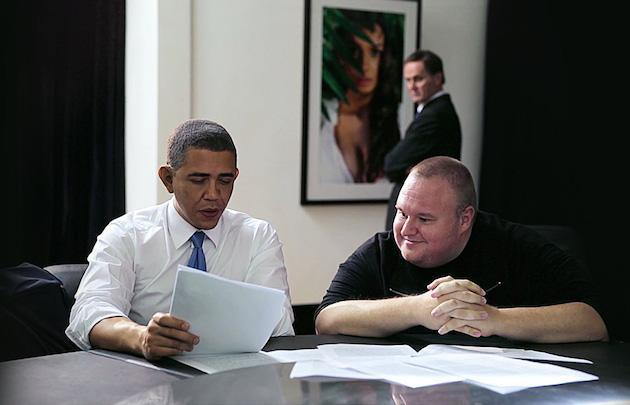 Kim Dotcom gets into politics with launch of an 'Internet Party' in New Zealand