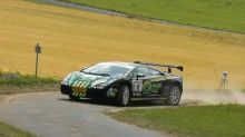 Lamborghini rally car making its mark in Holland