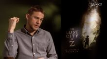 The Lost City of Z: Charlie Hunnam on the day a beetle bit a hole in his ear drum