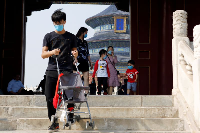 China reports one new coronavirus case versus 12 a day earlier