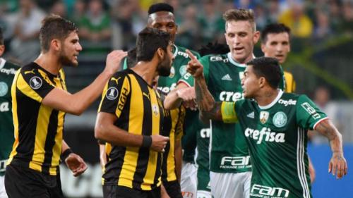 Mattos reclama da arbitragem e detona Peñarol: 'Vai chorar em casa'