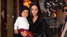 Kim Kardashian's photo of son Saint kicks off mommy-shaming debate about pacifiers