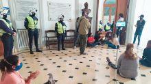 Tensión en Olavarría: un grupo intentó tomar el municipio