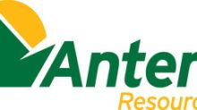 Antero Resources Reports Third Quarter 2019 Financial and Operational Results