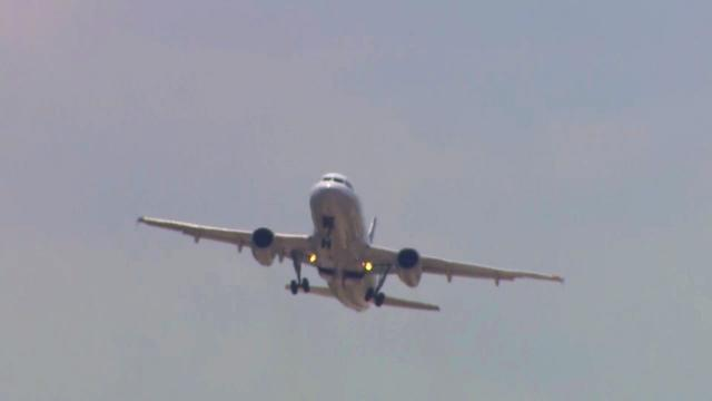 Airliner near miss at Bush Airport