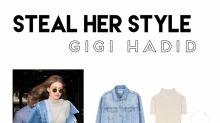 Steal her Style: Das lässige Denim-Outfit von Gigi Hadid