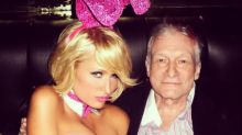 Kim Kardashian and Paris Hilton lead celebrity tributes to Hugh Hefner