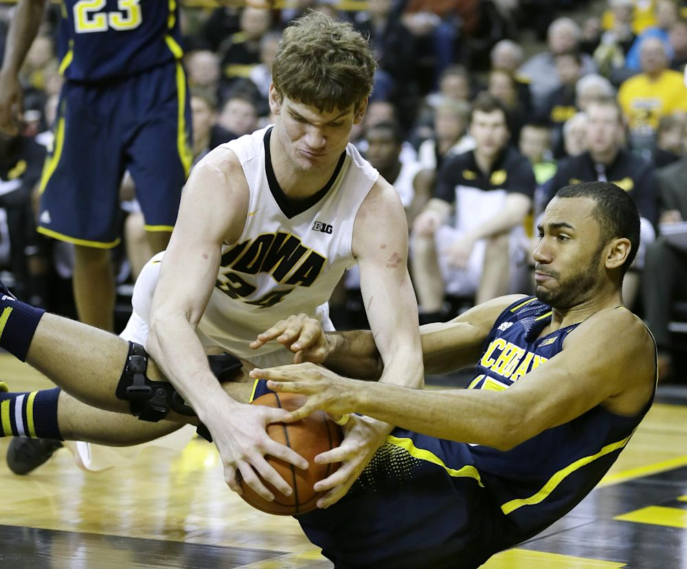 Unheralded front court key for No. 16 Iowa