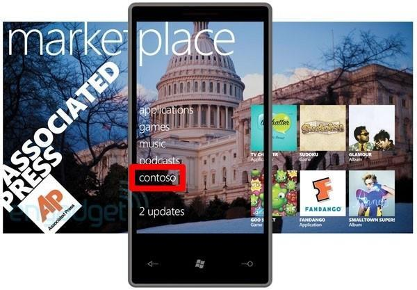 Olé, Contoso: Windows Phone Marketplace will integrate carrier-branded stores