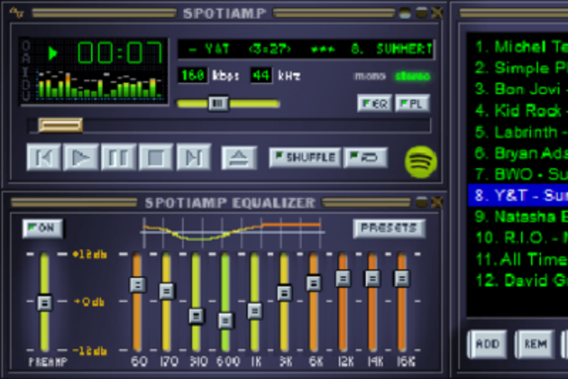 Spotify debuts Spotiamp, an ode to Winamp that streams your tunes