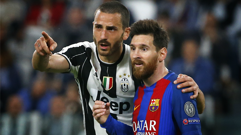 Juventus, Bonucci chiede la maglia a Messi e Chiellini lo rimprovera