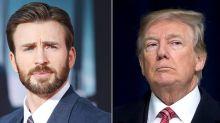 Chris Evans rebate comentário de Trump sobre Covid-19 e viraliza na web