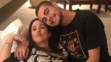 "Tatá Werneck se declara para o aniversariante Rafael Vitti: ""Amor da minha vida"""