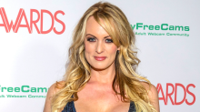 Porn star Stormy Daniels who 'slept with Donald Trump' SUES President over £94,000 'hush agreement'