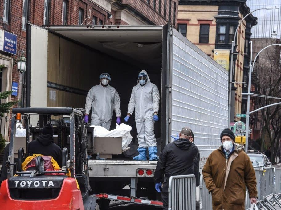 A New York City congressmember introduced legislation for a national coronavirus victims memorial.