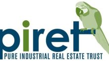 Pure Industrial Real Estate Trust Announces Receipt of Investment Canada Act Approval