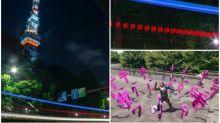 東京鐵塔夜景相 驚現「空車空車空車」超似必殺技