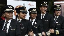 印度女性飛行員佔比全球最高,約國際平均值兩倍