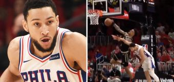 'Should be out': Simmons hard foul sparks debate
