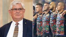 Indigenous minister's surprise take on NRL national anthem debate