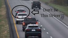 'Don't be this driver': Police's cheeky message about annoying road habit