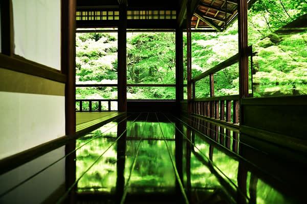 八瀬瑠璃光院一年只開放春、秋兩個季節