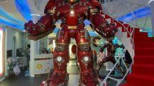 宛如模型博物館的泰國曼谷Cafe Marvel迷必睇1:1 Iron Man模型