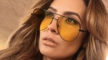 Desi Perkins's new Sahara sunglasses collection with Quay Australia is giving us heart-eyes
