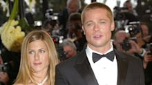 Brad Pitt Attends Jennifer Aniston's Star-Studded 50th Birthday Party
