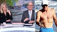 Sunrise hosts' stunned reaction to Greg Norman's X-rated photo