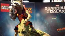 Lego Builds Movie Magic at Comic-Con