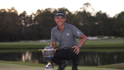 Collin Morikawa, campeón del Workday Championship, recuerda a Tiger y a su abuelo