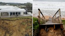 NSW coastal erosion threatening homes may be declared 'natural disaster'