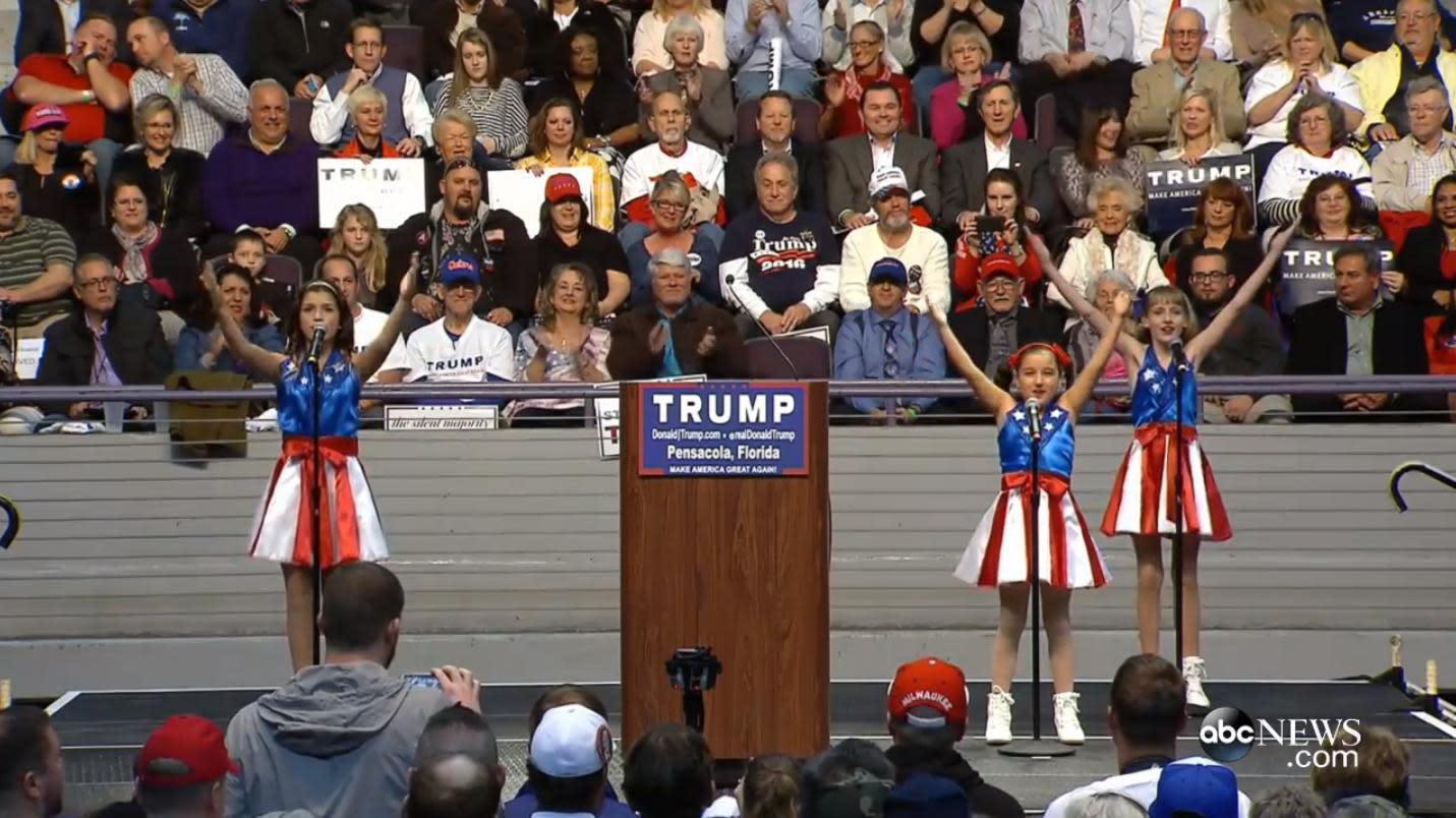 'Official Donald Trump Jam': Campaign enlists school-age ...