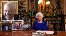 Queen admits to 'quite bumpy' year for family in annual Christmas message