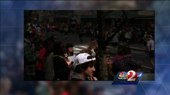 Local man says he took photo of Boston bombing suspect