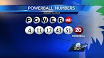 $1 million Powerball ticket sold in Upstate; still unclaimed