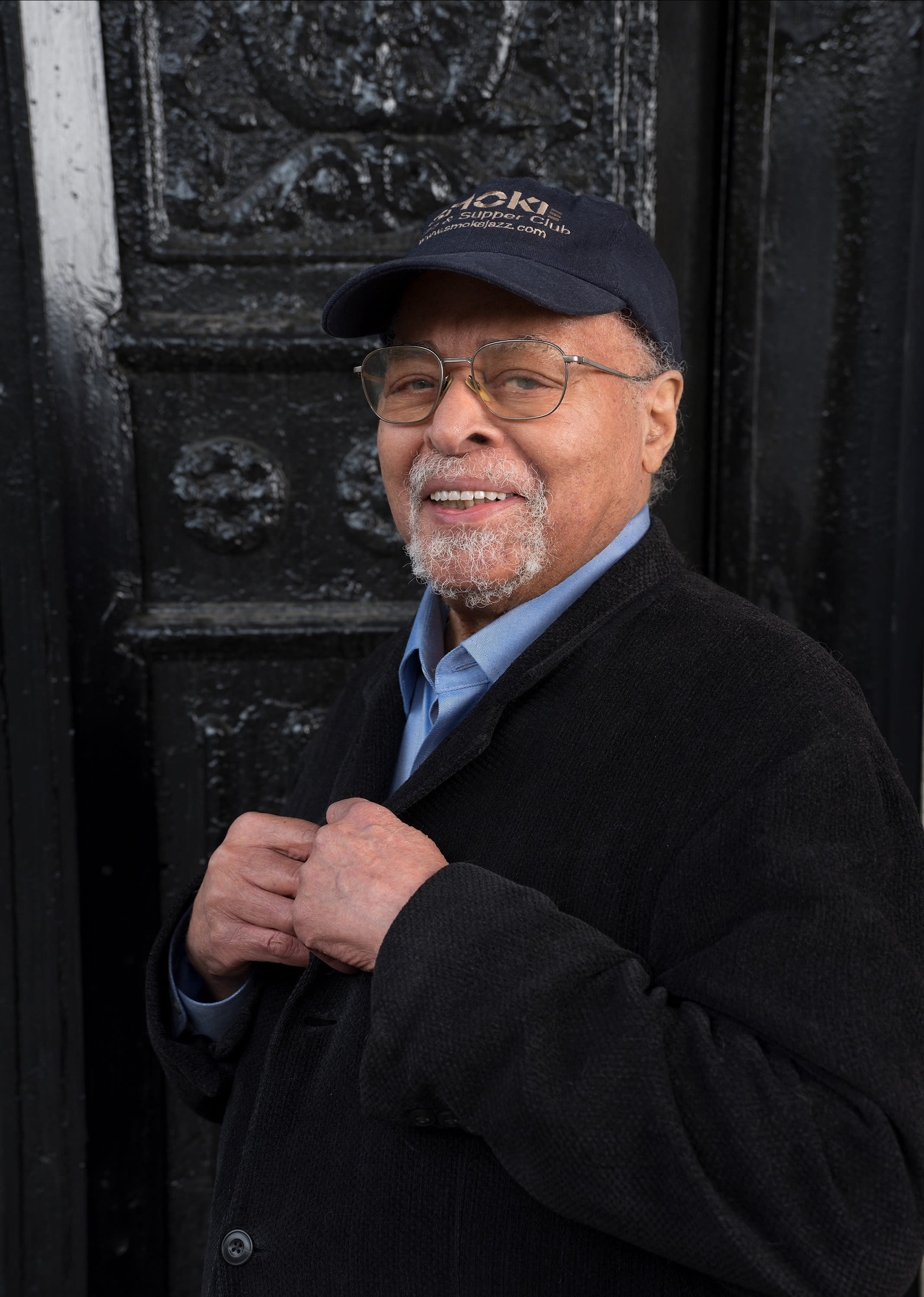 """In this 2019 photo provided by Smoke Sessions Records, musician Jimmy Cobb poses for the release of his album """"This I Dig of You"""" in New York City. Cobb, a percussionist and the last surviving member of Miles Davis' 1959 """"Kind of Blue"""" groundbreaking jazz album which transformed the genre and sparked several careers, died Sunday, May 24, 2020, at his New York's Manhattan home. He was 91. (Courtesy of Smoke Sessions Records via AP)"""