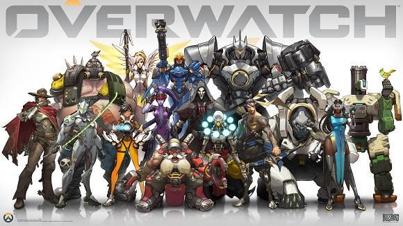 The heroes of Overwatch