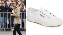 Kate Middleton's favourite Superga sneakers are back in stock at Nordstrom — and they're on sale