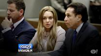 Lindsay Lohan Leaves Court-Ordered Rehab
