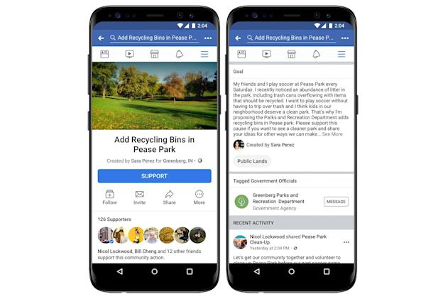 Facebook introduces political petitions to your News Feed