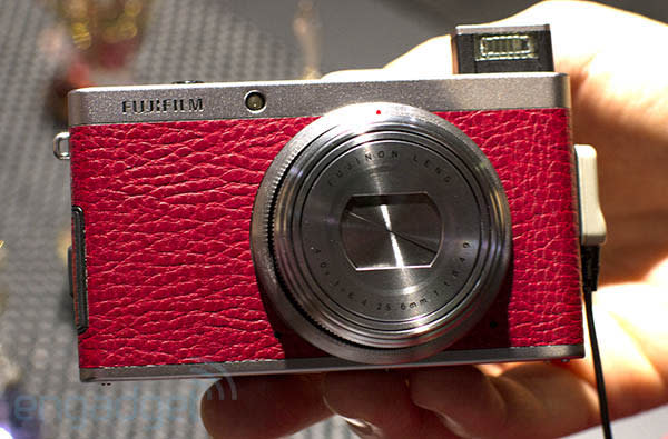 Fujifilm's XF1 makes a fashion statement at Photokina, we go hands-on (video)