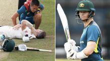 Australia rocked by fresh concussion drama for Steve Smith