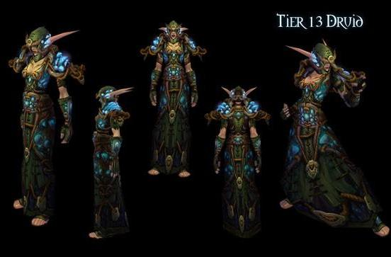 Patch 4.3: Druid tier 13 armor revealed