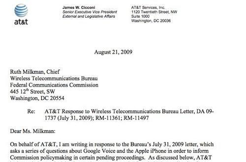 FCC responses are in: AT&T disavows any knowledge of App Store internal shenanigans